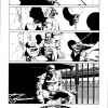 Avengers Origins: Luke Cage black and white preview art by Dalibor Talajic