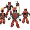 Deadpool Corps Minimates Boxed Set, NYCC 2011 exclusive from Diamond Select Toys