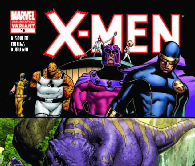 X-MEN 16 2ND PRINTING VARIANT