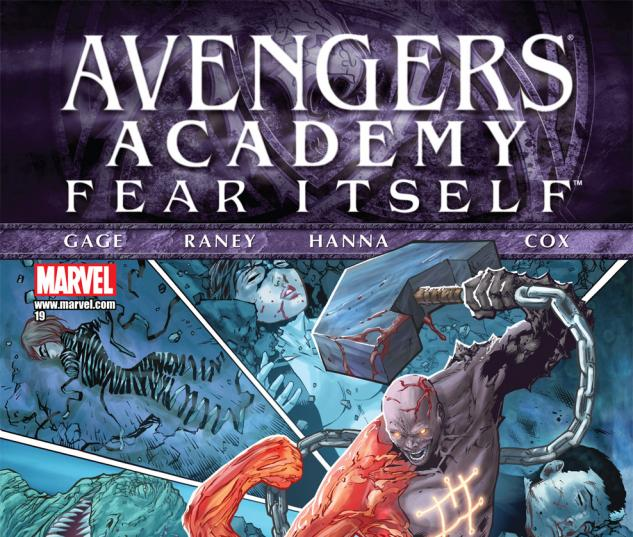 Avengers Academy (2010) #19 Cover