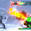 "Screenshot of Strider vs. Tron in ""Ultimate Marvel vs. Capcom 3"""