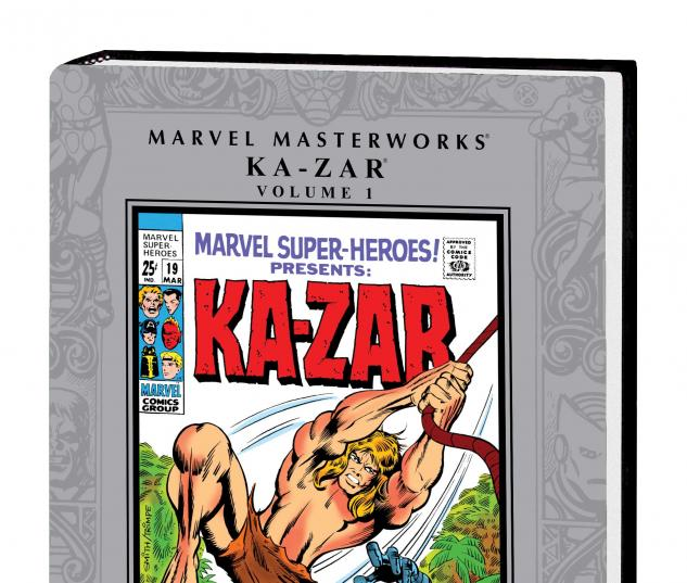 MARVEL MASTERWORKS: KA-ZAR VOL. 1 HC