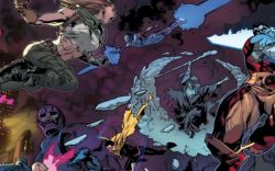 Marvel AR: All-New X-Men Double Page Spread