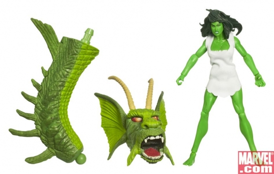 Marvel Legends™ Hulk™ Build-A-Figure Collection: She-Hulk™
