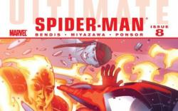 Image Featuring Human Torch (Ultimate), Iceman (Ultimate)