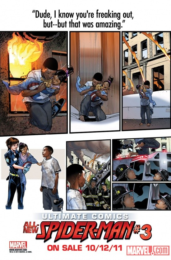 Coming Soon In ULTIMATE COMICS SPIDER-MAN #3