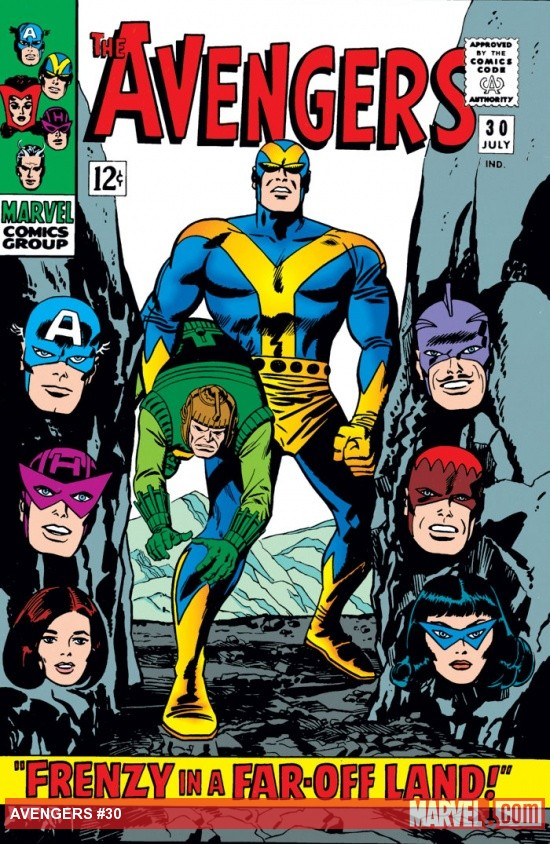 Avengers (1963) #30 cover