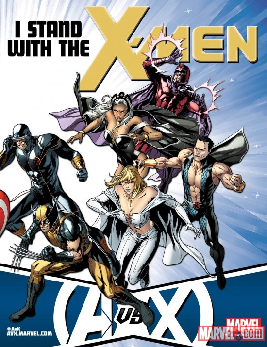 Avengers VS X-Men X-Men poster