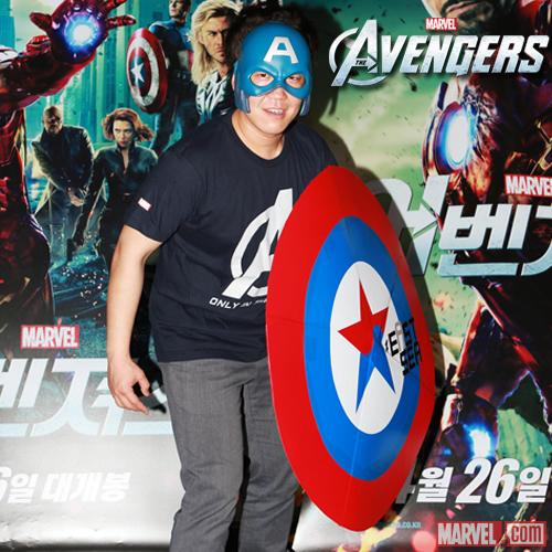 Marvel's The Avengers Fan Event in Seoul