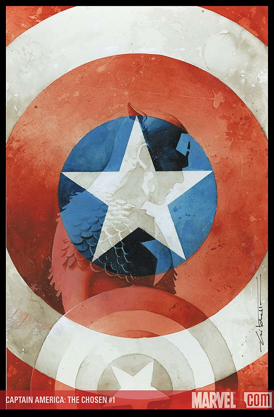 CAPTAIN AMERICA: THE CHOSEN #1