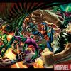 Image Featuring Sandman, Spider-Man, Vulture (Adrian Toomes), Doctor Octopus, Norman Osborn, Kraven the Hunter