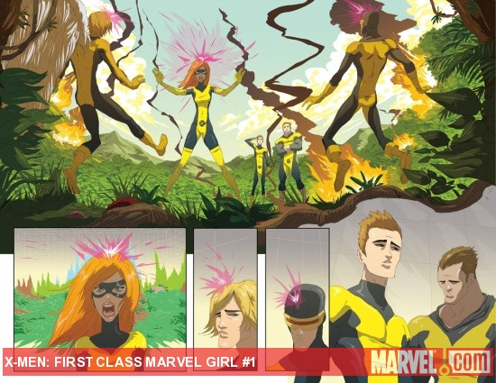 Marvel Girl #1 preview art by Nuno Plati