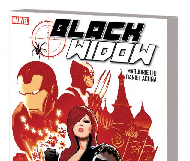 BLACK WIDOW: THE NAME OF THE ROSE TPB cover