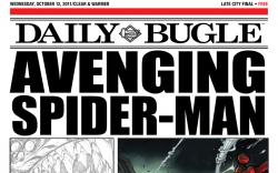 Avenging Spider-Man Daily Bugle (2011) #1 cover