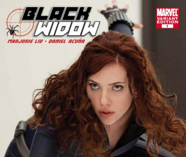 BLACK WIDOW #1 Iron Man 2 movie variant