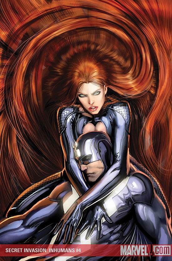 SECRET INVASION: INHUMANS #4