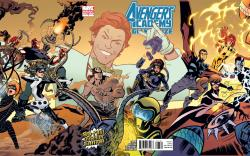 Avengers Academy Giant-Size #1 (Gatefold Variant)