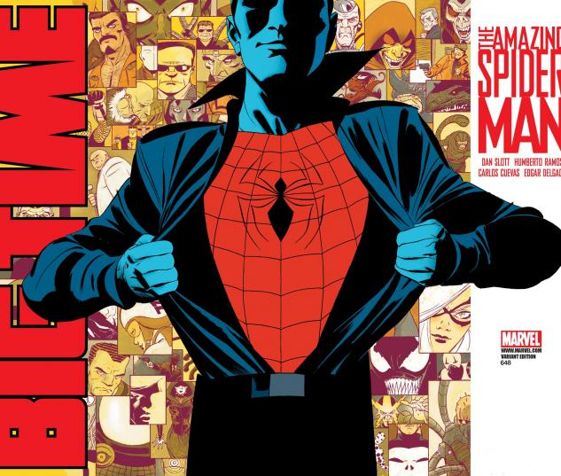 Amazing Spider-Man (1999) #648, Wraparound Variant