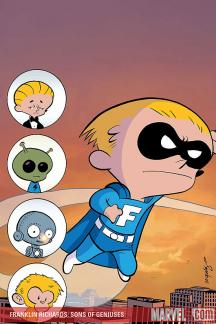 Franklin Richards: Sons of Genuises (2008) #1