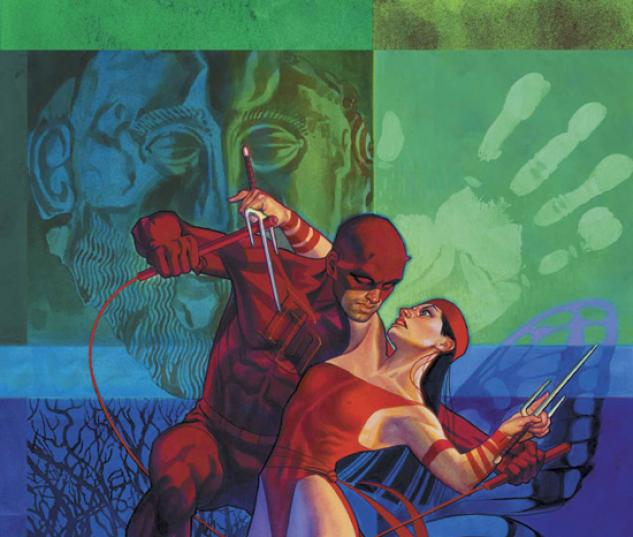 Elektra #35 cover by Brian Stelfreeze