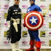 WonderCon 2011: Marvel Photo Meet-Up, Nick Fury & Captain America