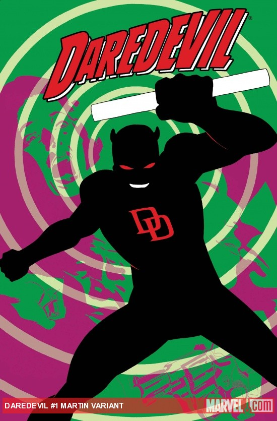 Daredevil #1 Martin Variant cover