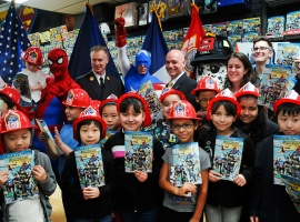 Marvel and the FDNY Team for Fire Safety