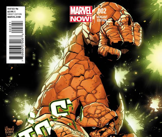 Fantastic Four #2 Kubert Variant