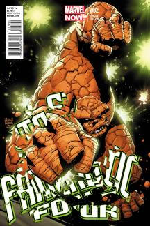 Fantastic Four (2012) #2 (Kubert Variant)
