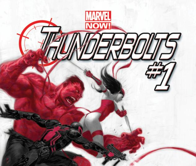 Thunderbolts 2012 Cover #1