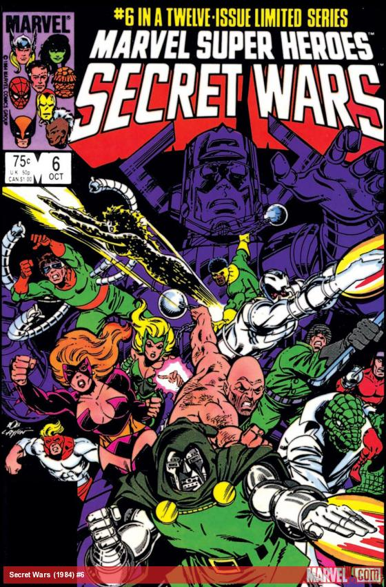 Secret Wars (1984) #6