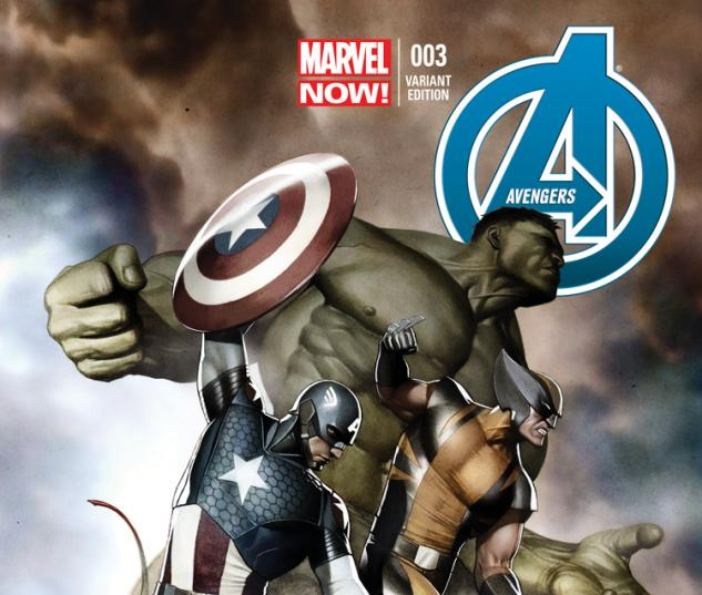cover from Avengers (2012) #3 (GRANOV VARIANT)