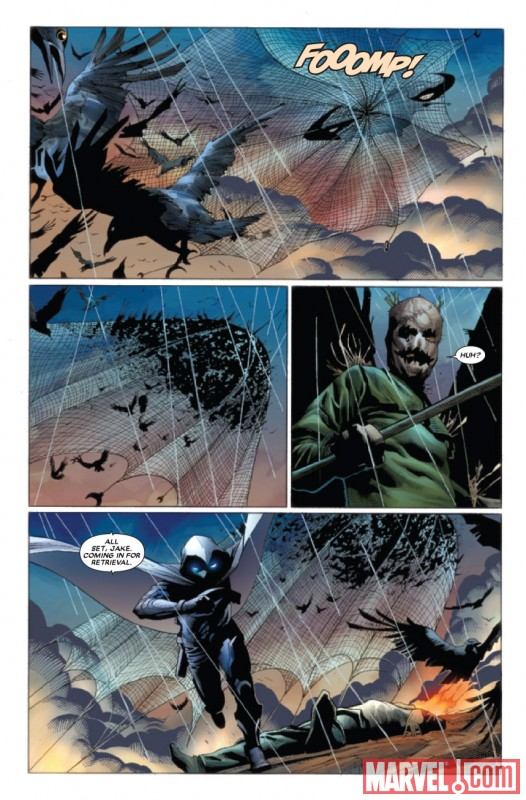VENGEANCE OF THE MOON KNIGHT #5 Art by Jerome Opena
