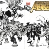 New Avengers #1 cover by Walt Simonson