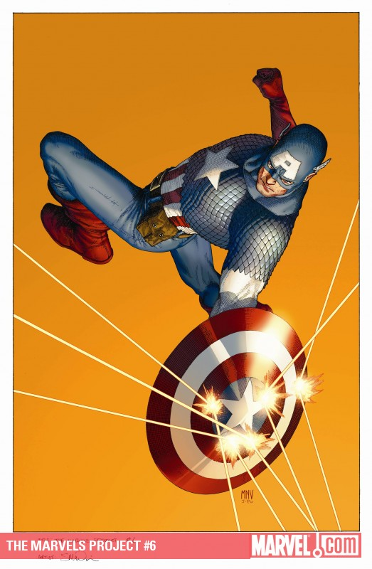 The Marvels Project (2009) #6