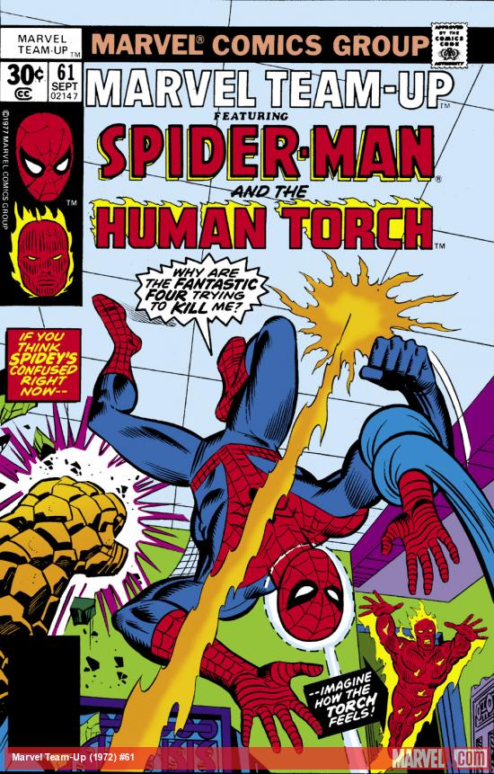 Marvel Team-Up (1972) #61 Cover