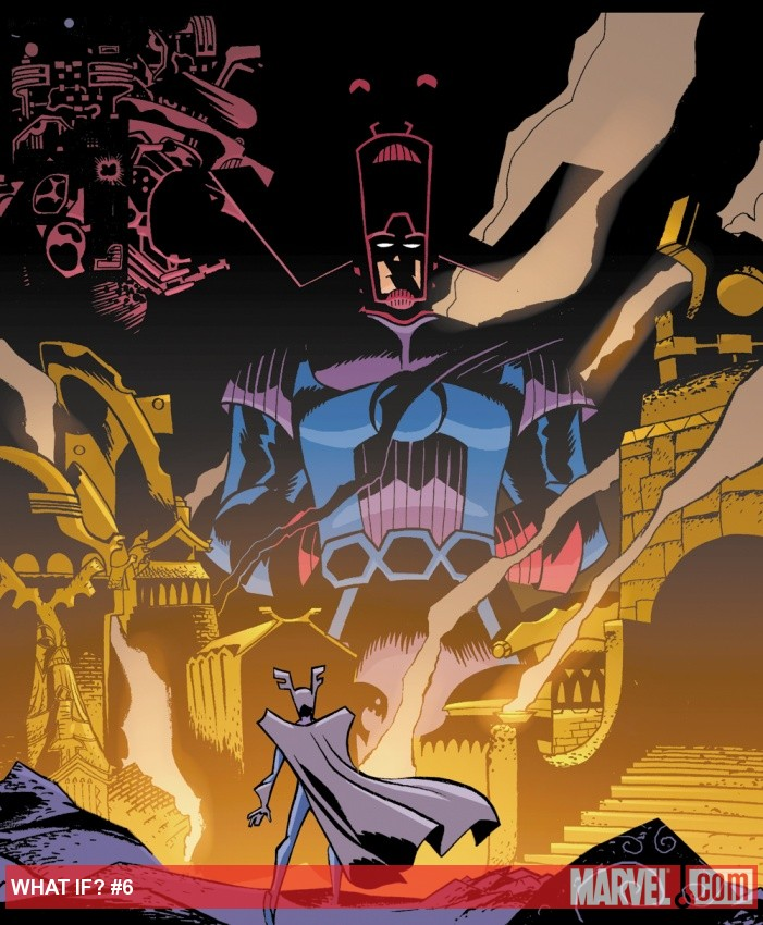 Loki faces Galactus