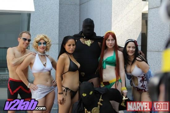 Dragon*Con 2011: Marvel Swimsuit Costume Gathering