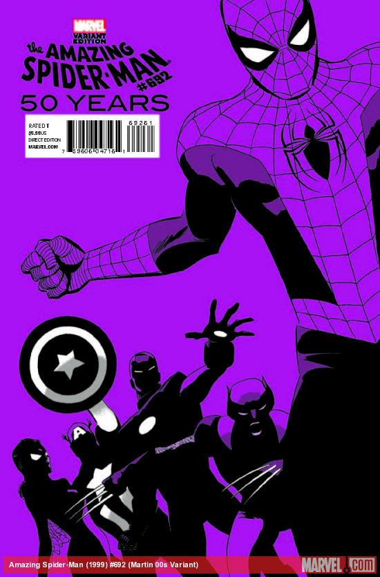 AMAZING SPIDER-MAN 692 MARTIN 00S VARIANT (WITH DIGITAL CODE)