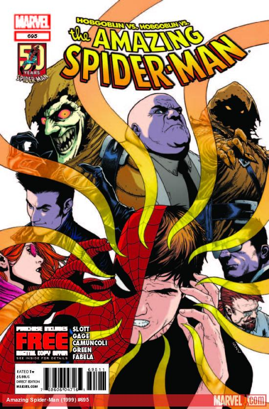 AMAZING SPIDER-MAN 695 (WITH DIGITAL CODE)