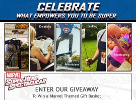 Marvel Super Hero Spectacular Instagram Contest