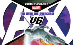 AVENGERS VS. X-MEN 7 AVENGERS TEAM VARIANT (WITH DIGITAL CODE)