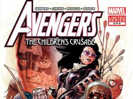 Avengers: The Childrens Crusade (2010) #8 Cover