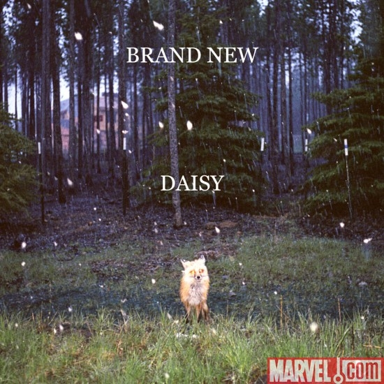 Cover art to Brand News album Daisy