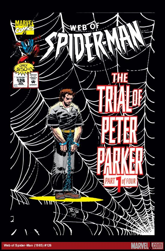 Web of Spider-Man (1985) #126 Cover