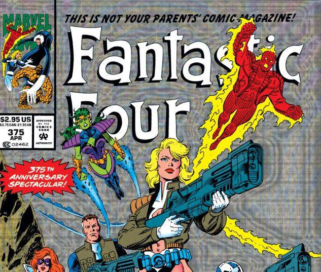 Fantastic Four (1961) #375 Cover