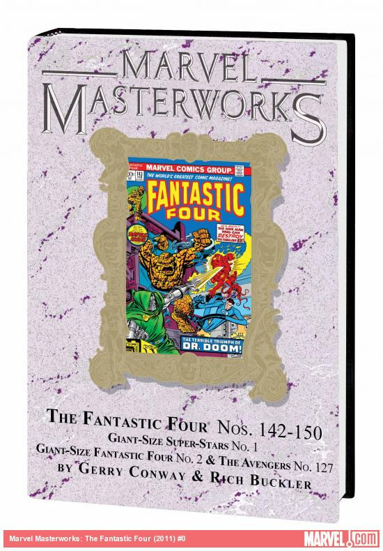 MARVEL MASTERWORKS: THE FANTASTIC FOUR VOL. 14 HC VARIANT (DM ONLY)
