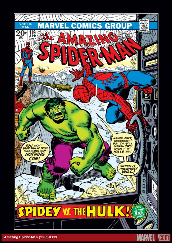 Amazing Spider-Man (1963) #119 Cover