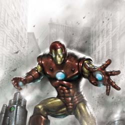 Indomitable Iron Man Black and White (2010)