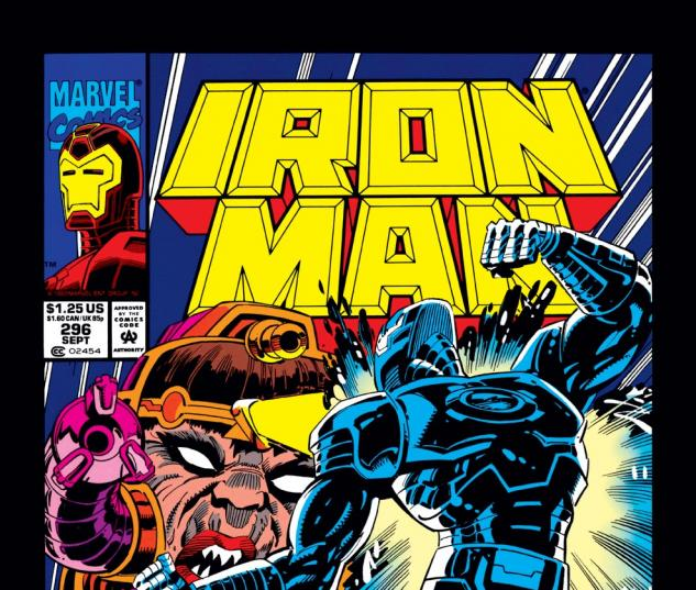 Iron Man (1968) #296 Cover